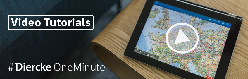 #DierckeOneMinute - Die Atlas App Video-Tutorials